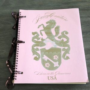 Juicy Couture Set of 3 Spiral Notebooks